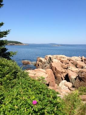 Maine coastline