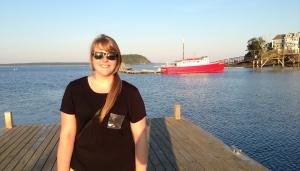 Danielle in Bar Harbor