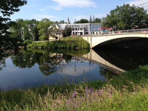 Kingfield, Maine Carrabassett river