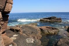 Rugged coast