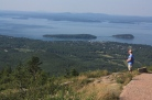 View from the top of Cadilac Mtn