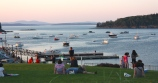 Sunset in Bar Harbor